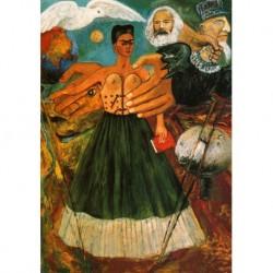 Poster Frida Kalo Art. 04 cm 50x70 Stampa Falsi d'Autore Affiche Plakat Fine Art