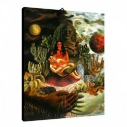 Quadro Frida Kalo Art. 03 cm 35x50 Trasporto Gratis intelaiato pronto da appendere Stampa su tela Canvas