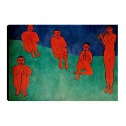Quadro Matisse Art. 04 cm 70x100 Trasporto Gratis intelaiato pronto da appendere Stampa su tela Canvas