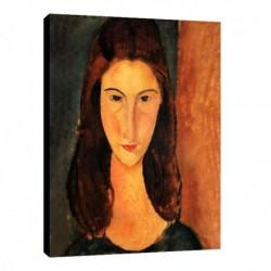 Quadro Modigliani Art. 10 cm 50x70 Trasporto Gratis intelaiato pronto da appendere Stampa su tela Canvas