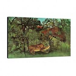 Quadro Rousseau Art. 03 cm 35x50 Trasporto Gratis intelaiato pronto da appendere Stampa su tela Canvas